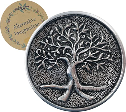 new arrival Tree of Life Aluminum 2021 Incense Holder outlet online sale Plate for Meditation, Yoga, Aromatherapy, Home Fragrance outlet sale