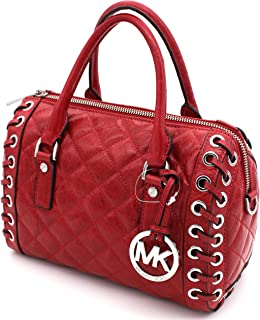 Michael Kors Sophie Small Quilted-Leather Satchel
