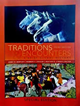 By Jerry Bentley Traditions & Encounters: A Brief Global History (3rd Edition)