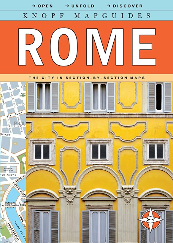 Knopf Mapguides: Rome: The City in Section-by-Section Maps