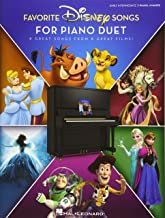 Favorite Disney Songs for Piano Duet: 8 Great Songs from 8 Great Films