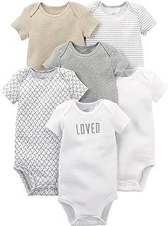 Baby 6-Pack Short-Sleeve Bodysuit