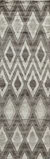 (0.6m x 2.4m Runner) - Momeni Rugs ATLASATL-3NAT2380 Atlas Collection Hand Knotted Rug, 0.6m by 2.4m, ATL-3, Natural