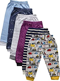 Kid's Cotton Pajama Pant with Rib - Pack of 6