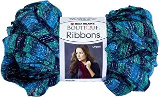Red Heart Boutique Ribbons Yarn, Laguna