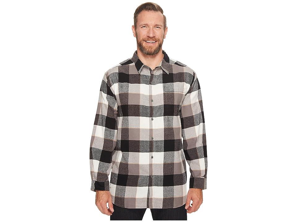 Columbia Big Tall Boulder Ridge Long Sleeve Flannel (Boulder Check) Men