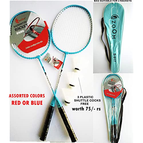TOY-STATION - I Zoom - Badminton Racquet Combo (Set of 2) - from Hong Kong