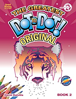 Greatest Dot-to-Dot Book in the World (Book 2) - Holiday Favorites - Relaxing Puzzles