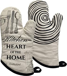 GREVY Cotton Oven Mitts(Oven Mitts)