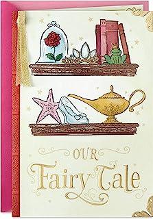 Hallmark Tarjeta de aniversario de Disney, tarjeta de amor (Nuestro cuento de hadas)