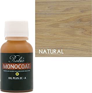 Rubio Monocoat Oil Plus 2C-A Sample Wood Stain Natural 100ml