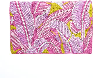 From St Xavier Women's Cordyline Clutch, Pink/Yellow, One Size