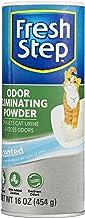 Fresh Step Cat Litter Box Odor Eliminating Powder | Cat Deodorizer For Litter Box, 16 Ounces