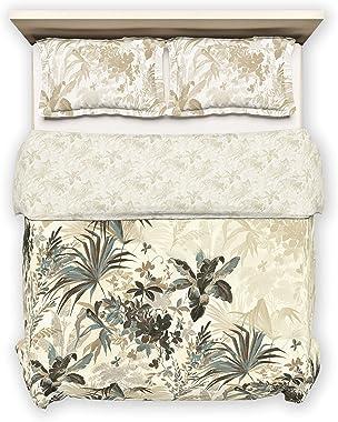 D'Decor Live Beautiful 150TC 1 Double Comforter - Beige ( 228 cm X 274 cm , 90IN X 108IN )