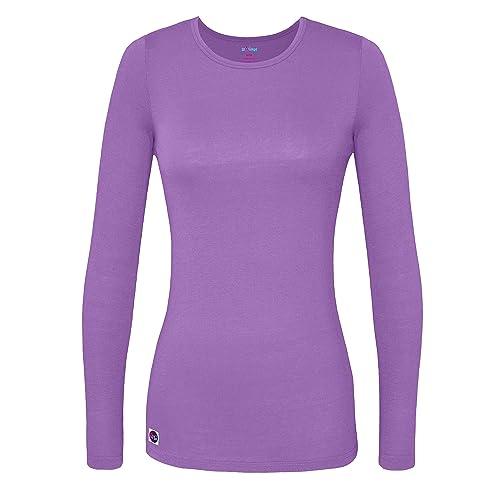 2a6738863819 Sivvan Women's Comfort Long Sleeve T-Shirt/Underscrub Tee
