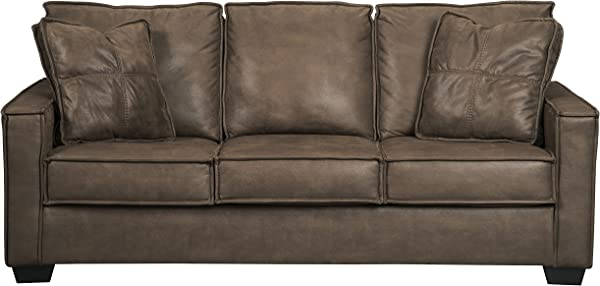 Ashley 家具签名设计 Terrington 当代软垫沙发背带