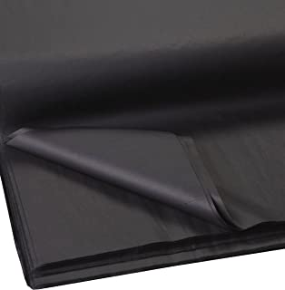 Jillson Roberts Bulk 20 x 30 Inches Recycled Tissue Available in 28 Colors, Black, 480 Unfolded Sheets (BFT21)