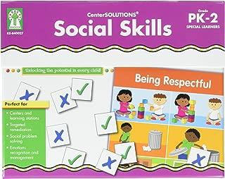 Social Skills File Folder Game