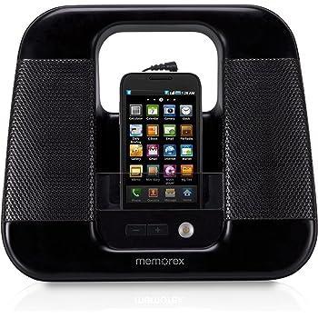 Memorex ML410-BLK Portable Line In Speakers