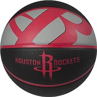 Spalding NBA Courtside Team Outdoor Rubber Basketball Team Logo, 29.5