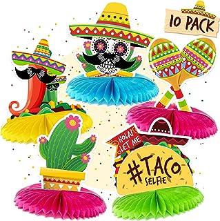 ست وسط میز مکزیکی - تزیینات Cinco de Mayo Para Fiesta Party Supplies Favors Decor - لوازم تزئینات مهمانی تم مکزیکی