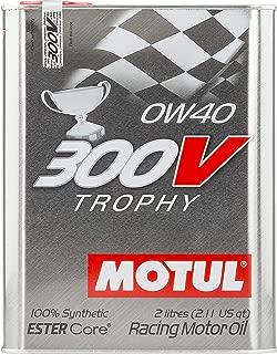 Motul 300V 0W-40 Synthetic Racing Oil 2 Liters (104240), 2. liters