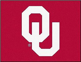 Fanmats NCAA University of Oklahoma Sooners Nylon Face All-Star Rug