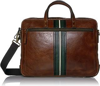 Fossil Haskell Leather 40.64 cms Cognac Messenger Bag (MBG9456222)