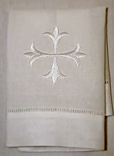 Integrity Designs Baby Baptism Cloth with White Cross
