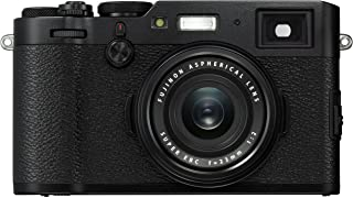 Fujifilm X100F - Cámara compacta de 24.3 MP (pantalla de 3 visor hibrido video Full HD)