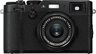 Fujifilm X100F Cámara Mirrorless, Color Negro