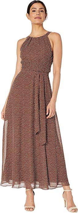 0febfe53f5 Search Results. Brown/Ivory. 19. Adrianna Papell. Darling Dot Halter Maxi  Dress