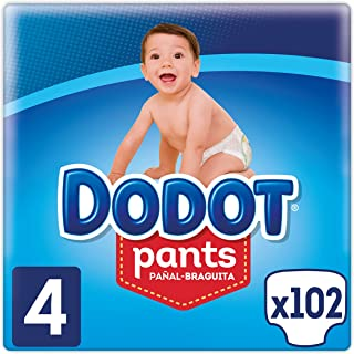 Dodot Pants - Pañales Braguitas, talla 4 ( 9-15 kg), pack de 3 x 34, total de 102