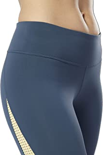 Reebok womens Les Mills Perforated Tight Ankle Legging