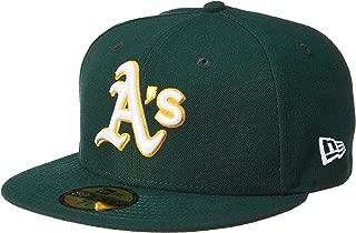 (ニューエラ)NEW ERA ベースボールウェア MLB ACPERF オークランド・アスレチックス ロードキャップ 17J 11449353 [ユニセックス] 11449353 チームカラー 7.1/2