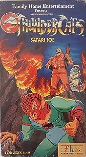 Thundercats:Safari Joe VHS