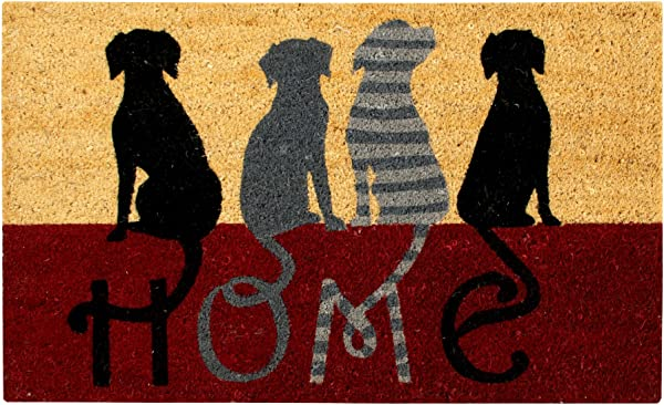 Better Trends Pan Overseas FWAN1901 Dog Home Coir Door Mat