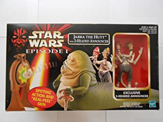 Star Wars Episode I Jabba The Hutt with Exclusive 2-Headed Announcer Playset