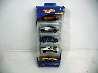 Hot Wheels Raptor Blast 5 Car Gift Pack Set w/ 5 Collectible 1:64 Scale Die Cast Cars