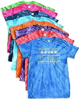 Custom Lacrosse Rainbow Tie Dye Long Sleeve T-Shirt LAX Logo