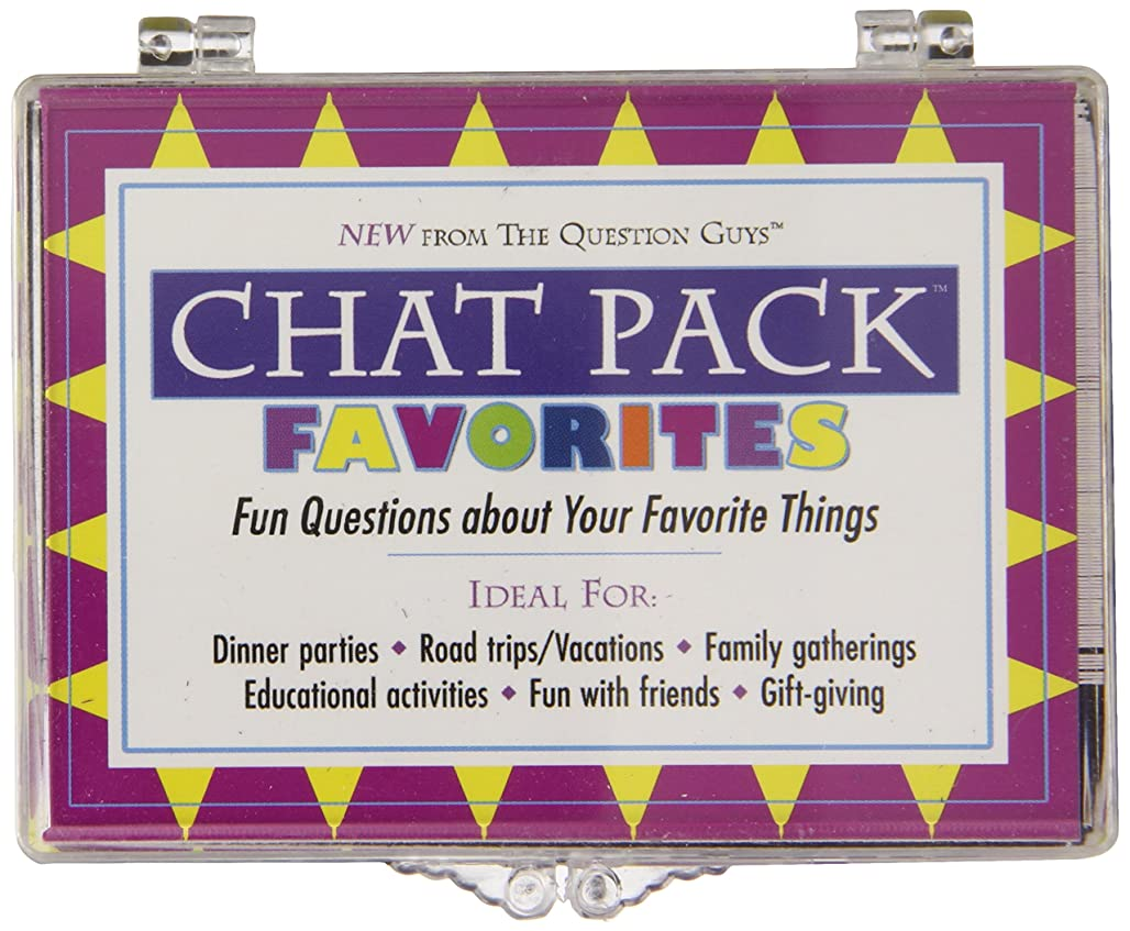 Ingramcontent Chat Pack Favorites: Fun Questions About Your Favorite Things fkxce0987
