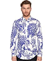Vivienne Westwood - Stretch Printed Poplin Classic Stretch Shirt