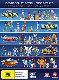 Digimon: Digital Monsters 20th Anniversary Collection (season 1-5) (DVD)