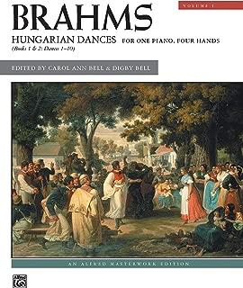 Brahms -- Hungarian Dances, Vol 1 (Alfred Masterwork Edition)