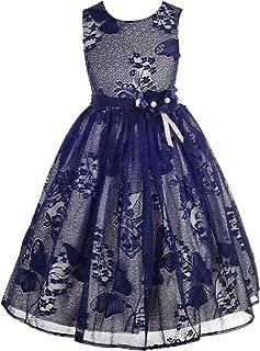 Dressy Daisy DRESS ガールズ US サイズ: 4 カラー: ブルー