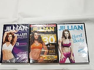 Fit For Life LLC 3 Pack Jillian Michaels Hard Body, Ripped in 30, Killer Abs