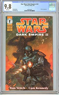 Star Wars Dark Empire II #2 CGC 9.8 White Pages (1995) 2058679024 Boba Fett