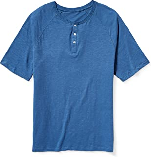Men's Big & Tall Short-Sleeve Slub Henley T-Shirt fit by DXL