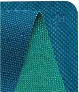 Manduka Begin Yoga Mat – Premium 5mm Thick Yoga Mat with Alignment Stripe. Reversible, Lightweight with Dense Cushioning f...