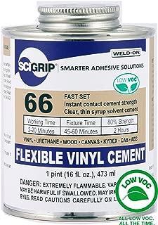 Weld-On 66 Vinyl Cement - Pint